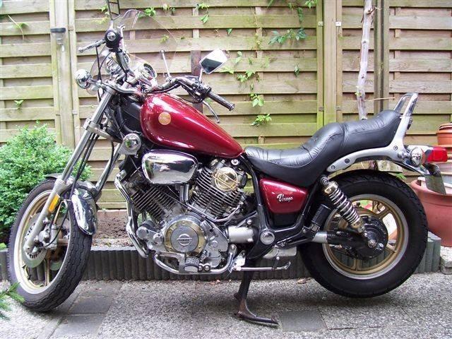Yamaha XV 1000 Virago - круизер для настоящих ценителей