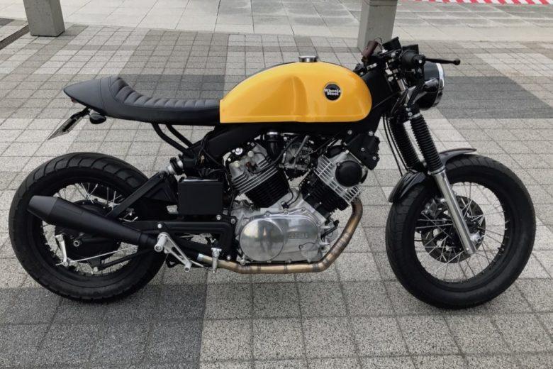 Мотоцикл Yamaha XV 920 - красивый круизер