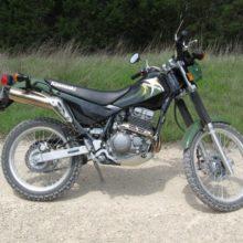 Kawasaki KL250 Super Sherpa — байк для бездорожья, хотя и не особо шустрый