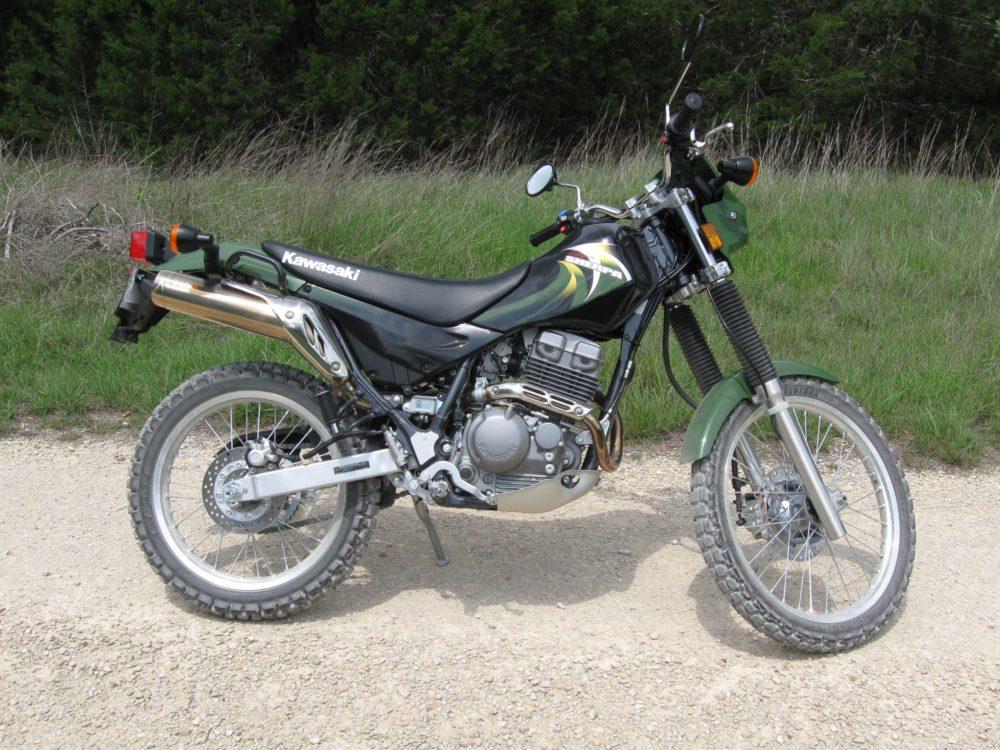 Kawasaki KL250 Super Sherpa - байк для бездорожья, хотя и не особо шустрый
