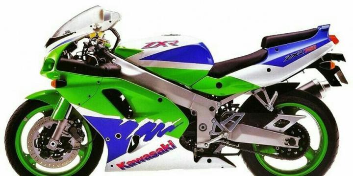 Kawasaki ZXR 750 - мотоцикл эпохи девяностых