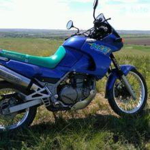 Kawasaki KLE 500 — отлично подходит для путешествий