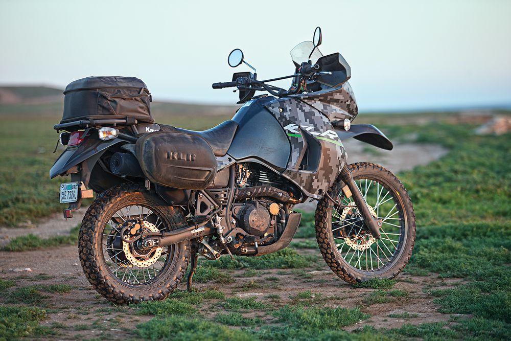 Kawasaki KLR 650 - это хороший, бодрый эндуро