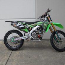 Kawasaki KX 250F — мотоцикл кроссового класса