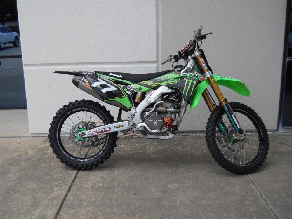 Kawasaki KX 250F - мотоцикл кроссового класса
