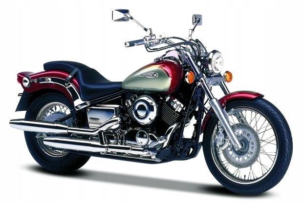 Yamaha XVS 650 Drag Star (V-Star 650) - один из самых красивых круизеров