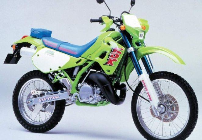 Kawasaki KDX 250 - самобытный эндуро из прошлого столетия