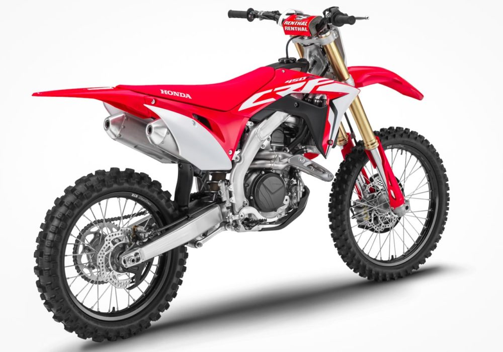 Honda CRF 250 - современный внедорожный мотоцикл