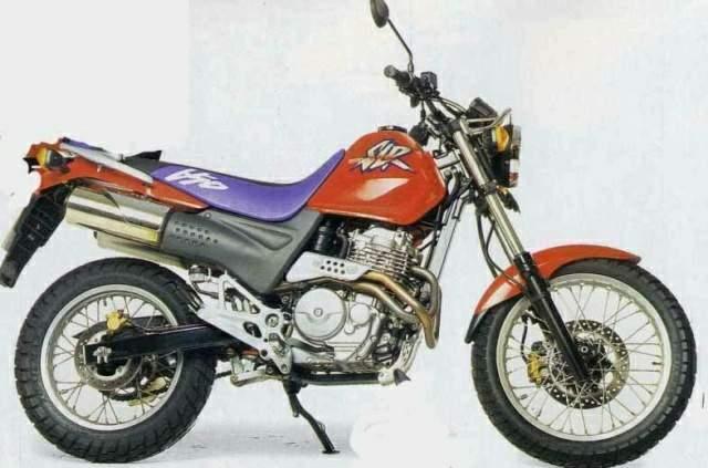 Мотоцикл Honda SLR 650 - отличный байк для города