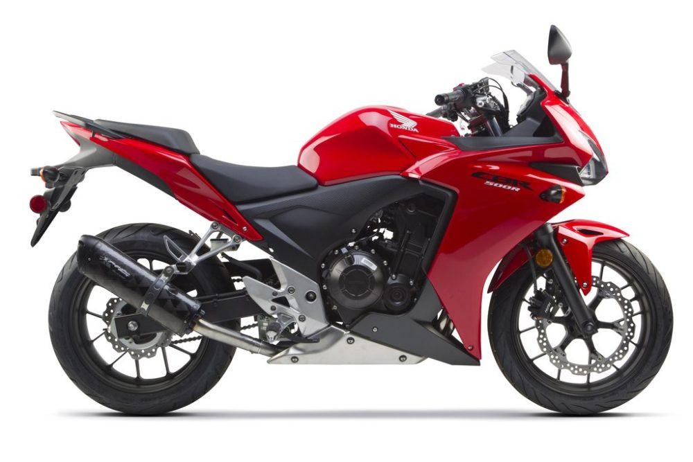 Мотоцикл Honda CBR 500 R - спортивный байк, который выпускается до сих пор